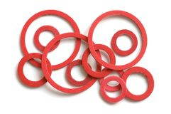 Gaskets Stock Photo