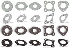 Gaskets set Stock Images