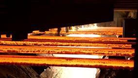 Gasklippmaskin i fabrik stock video