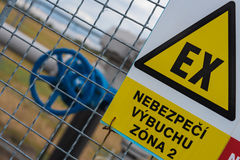 Gaskraftübertragungssystem Lizenzfreie Stockbilder