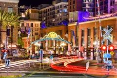 Gaslamp-Bezirk von San Diego Lizenzfreie Stockfotos
