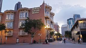 Gaslamp District, San Diego Stock Photos