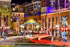 Gaslamp District of San Diego Royalty Free Stock Photos