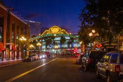 Gaslamp Quarter Royalty Free Stock Images