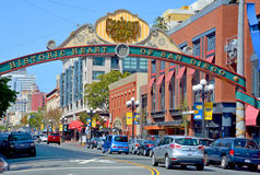 The Gaslamp Quarter Stock Images