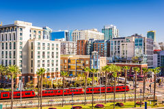 Gaslamp Quarter in San Diego Stock Images