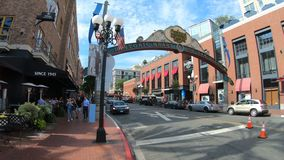 Gaslamp Quarter sign entrance