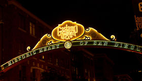 Gaslamp, San Diego Stock Images