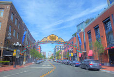 Gaslamp , San Diego Stock Photos