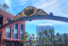 Gaslamp , San Diego Stock Images