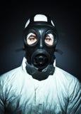 gasmanmaskering Royaltyfri Fotografi