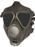 Gasmask. Isolated gas mask without filter Royalty Free Stock Photos