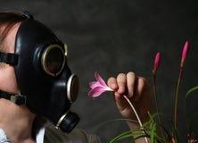 Gasmaske Lizenzfreies Stockfoto