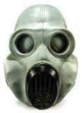Gasmaske auf Weiß Stockbilder