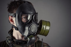 Gasmasker Royalty-vrije Stock Afbeelding