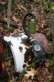 Gasmaskerhout stock foto