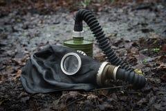 Gasmaskerhout stock fotografie