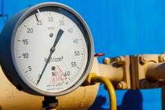 Gasmessstation Lizenzfreies Stockbild