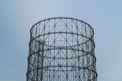 Gasmeter Stock Foto's
