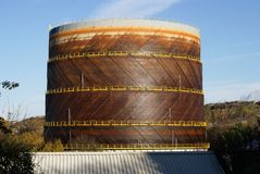 Gasmeter Stock Foto