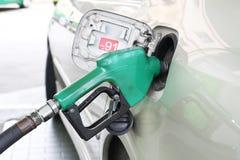 Gasolina de relleno Foto de archivo