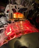 Motor de coche híbrido Fotos de archivo libres de regalías