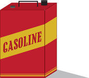 Gasoline Can Royalty Free Stock Photography