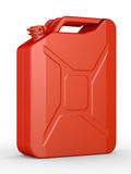 Gasoline canister Royalty Free Stock Photo