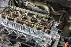 Gasoline car engine Royalty Free Stock Image