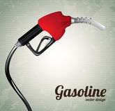 Gasoline dispenser Stock Photo