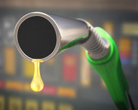 Gasoline Drop royalty free stock photos