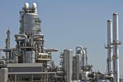 Gasoline factory near Rotterdam Netherlands Stock Photo