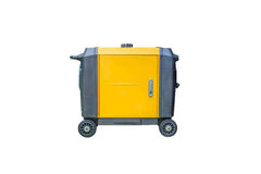 Gasoline generator on white background Royalty Free Stock Photography