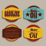 Gasoline industry Stock Photography