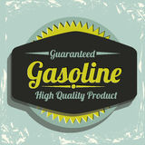 Gasoline industry Royalty Free Stock Images