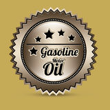Gasoline industry Royalty Free Stock Photos
