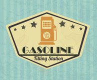 Gasoline industry Stock Image