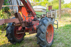 Gasoline motor cultivator Royalty Free Stock Photography