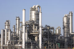 Gasoline plant. In the Netherlands Royalty Free Stock Photo