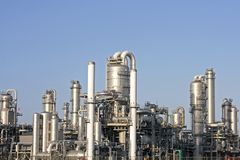 Gasoline plant Royalty Free Stock Images