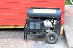 Gasoline Powered Portable Generator Stock Photography