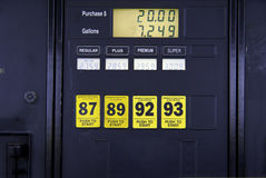 Gasoline Pump Stock Photo