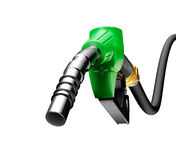 Gasoline pump Royalty Free Stock Images