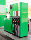 Gasoline pump Royalty Free Stock Photos