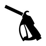 Gasoline pump nozzle. Available in high-resolution and several sizes to fit the needs of your project Royalty Free Stock Photo