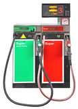 Gasoline pump Royalty Free Stock Image