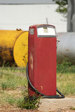 Gasoline Pump. Old gasoline pump to fill automobiles Royalty Free Stock Photos