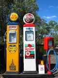 Gasoline station vintage Royalty Free Stock Photo