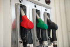 Gasoline pumps Stock Photography