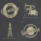 Gasoline symbols Royalty Free Stock Image